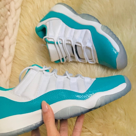 10a93385ab3 Jordan Shoes | Air 11 Low Aqua Safari | Poshmark